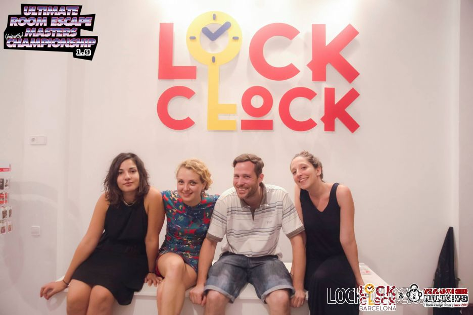 Lock-Clock Escape room team