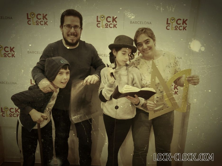 Escape room con niños