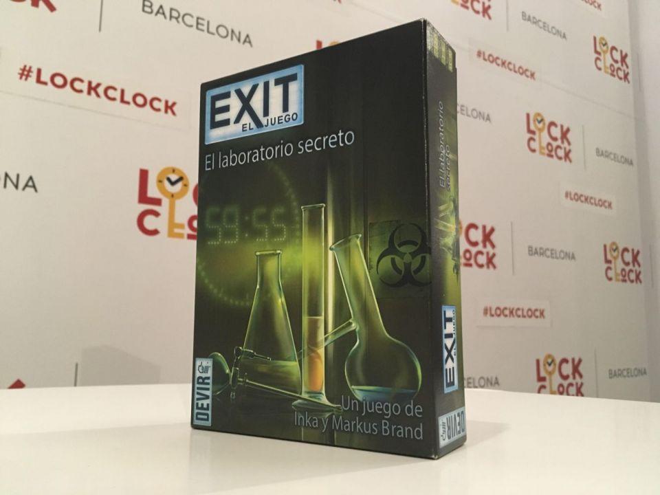 Exit devir escape room juego de mesa